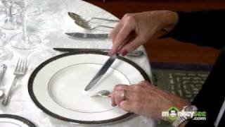 Download Basic Dining Etiquette - Using Utensils Video