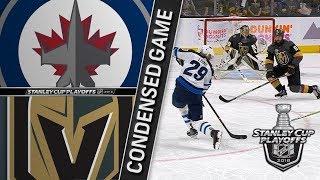 Download Winnipeg Jets vs Vegas Golden Knights WCF, Gm3 May 16, 2018 HIGHLIGHTS HD Video
