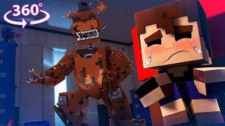 Download 360° Five Nights At Freddy's - NIGHTMARE FREDDY VISION - Minecraft 360° VR Video Video