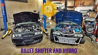 Download BMW E36 BILLET SHIFTER AND HYDRO EBRAKE INSTALL Video
