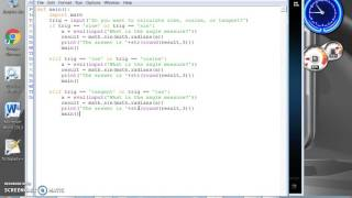 Download Sine,Cosine,Tangent Calculator - Python 3.4 Video