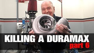 Download KILLING A DURAMAX Pt 6: 65% Better Turbo! Video