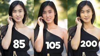 Download 85mm vs 105mm vs 70-200mm - Best Portrait lens? Video