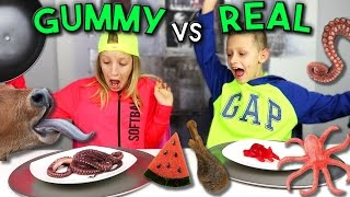 Download GUMMY vs REAL 2 Video