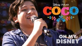Download Disney•Pixar's Coco Magical Guitar Surprise | Oh My Disney Video