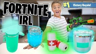 Download Fortnite Items IRL!! How to Make Chug Jug, Shield potion, and MORE! Video