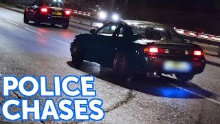 Download POLICE Chase DRIFTERS! - Leaving a Car Show Video