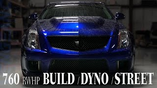 Download 760+RWHP CTSV (Build, Dyno, Street Action) Vengeance Racing Video