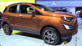 Download 2017 Ford EcoSport SES AWD - Exterior and Interior Walkaround - 2016 LA Auto Show Video
