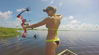 Download Bikini Bowfishing for Tilapia - Central Florida - Part 1 Video