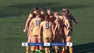 Download Highlights: Round 19 - Manly United FC v Emerging Jets FC Video