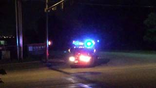 Download Broken Arrow Fire Department Squad 6 Responding!!!!! Video