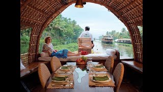 Download Alleppey Houseboat's interiors  Kerala Tourism  Travocoaster Video