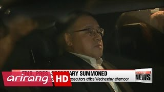 Download ARIRANG NEWS BREAK 10:00 President Park appoints new chief of staff, political affairs secretary Video