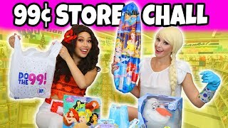 Download DOLLAR STORE CHALLENGE. (We do a 99 cent Only Store Haul) Video