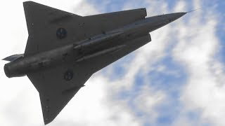 Download SAAB J 35 Draken The Finnish Air Force 100th Anniversary Airshow SwAFHF Video