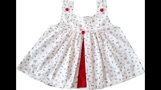 Download Baby frock cutting and stitching in hindi. Video