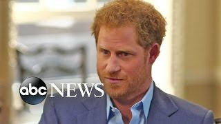 Download Prince Harry Opens Up About Princess Diana's Death Video