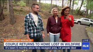 Download Couple returns to home lost in Gatlinburg fire Video