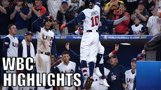 Download MLB | 2017 Team USA WBC Highlights ᴴᴰ Video