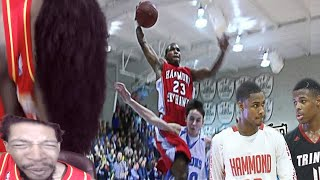 Download MADE ME LOSE MY VOICE!! SEVENTH WOODS HOOPMIXTAPE+ PLAYING AGAINST DENNIS SMITH JR REACTION!! Video