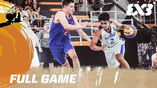 Download Netherlands vs. Philippines - Full Game - FIBA 3x3 U18 World Cup Video