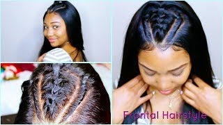 Download How To Style a 360 Lace Frontal Wig! Video