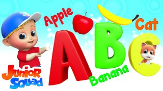 Download Phonics Song | ABC Alphabets Songs For Kids | Nursery Rhymes By Junior Squad Video