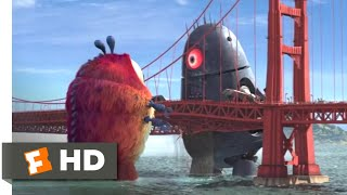 Download Monsters vs. Aliens (2009) - Golden Gate Grapple Scene (5/10) | Movieclips Video