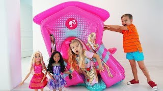 Download Diana and Barbie Party Video