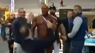 Download Raging Bodybuilder Pulls Out Penis Then SLAPS Judge After Losing Video