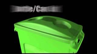 Download Bidoni per raccolta differenziata in plastica Video