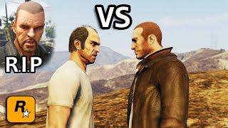 Download GTA V - Niko vs Trevor [Johnny's Death Revenge] Part 1 Video