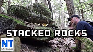 Download I found some strange rock piles way out in the woods Video