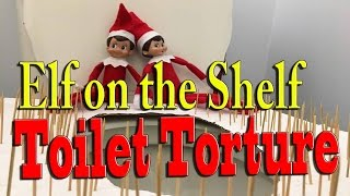 Download Elf on the Shelf - Toilet Torture Video