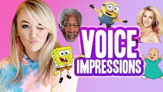 Download NEW VOICE IMPRESSIONS (Morgan Freeman, Minions & more!) Video