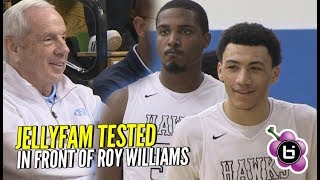 Download Jelly Fam Gets TESTED By Undefeated Team! Roy Williams Watches Precious Dominate! Video