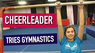 Download Cheerleader Tries Gymnastics: Round 3 Video