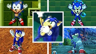 Download Evolution Of SONIC DROWNING In The Sonic The Hedgehog Series (1991-2018) Genesis, GBA, PC & More! Video
