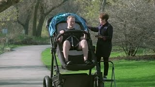 Download These adult-sized strollers are going viral Video