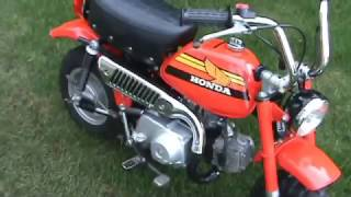 Download 1978 Honda Z50 Minitrail ″Monkeybike″ Video