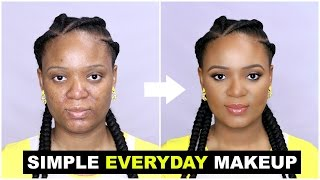 Download SIMPLE EVERYDAY MAKEUP TUTORIAL FOR BEGINNERS   OMABELLETV Video