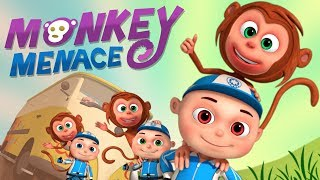 Download Zool Babies Series - Monkey Menace Episode | Cartoon Animation For Children | Videogyan Kids Shows Video