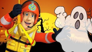 Download Fireman Sam US New Episodes | Fire Alarm at the Halloween Party 🎃 1 Hour | Cartoons for Children Video