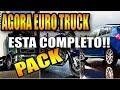 Download EURO TRUCK 2-AGORA ESTA COMPLETO (MOD PACK) VIAGEM COMPLETA QUASE NÃO FREIA Video