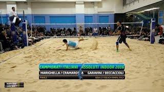 Download Marighella/Cramarossa Vs Garavini/Beccaccioli | Full Match | Finale Campionati Italiani Indoor 2016 Video