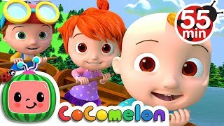 Download Row Row Row Your Boat | +More Nursery Rhymes & Kids Songs - CoCoMelon Video