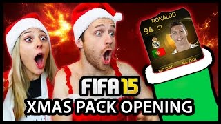 Download MY BEST PACK EVER?! SIF ST RONALDO! XMAS ADVENT CALENDAR PACK OPENING #16 - FIFA 15 ULTIMATE TEAM Video