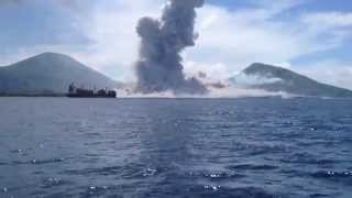 Download Volcano Eruption in Papua New Guinea Video