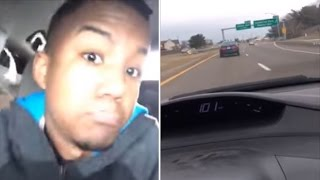 Download Man Crashes Car After Using Facebook Live To Capture Himself Going Over 100mph Video